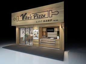杭州意百度披萨|空舍设计