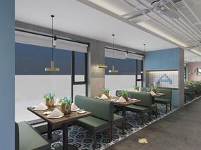 上海外婆桥餐厅|空舍设计