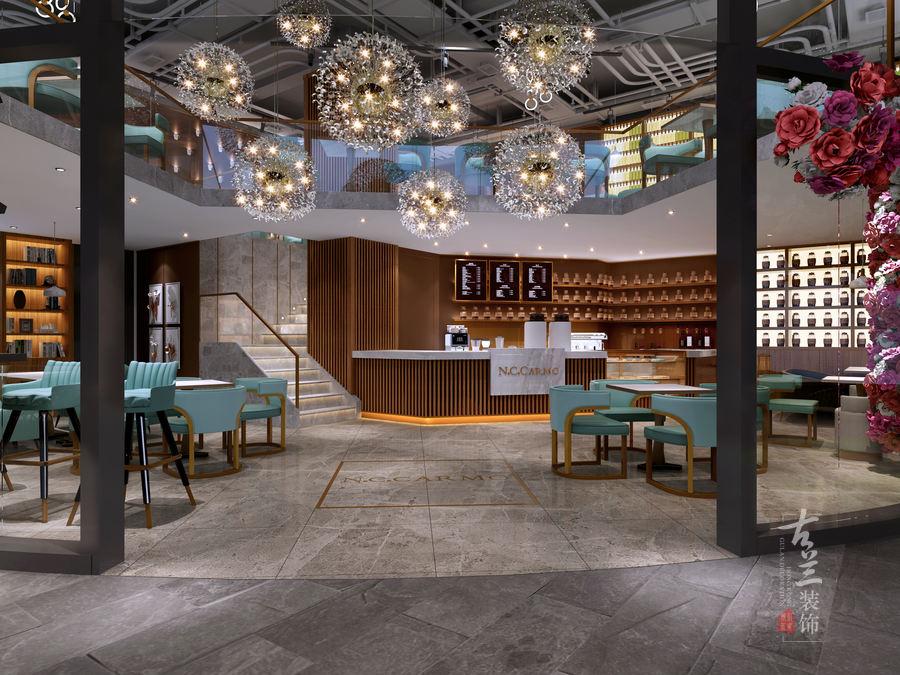 设计案例【卡莫咖啡厅】-广州咖啡厅空间设计公司