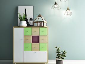 色彩板式家具