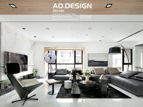 亚町设计丨柔光与灰调的碰撞