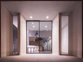 河南二合永办公室装修设计——华安置业办公空间