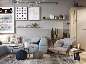 (私宅改造)哥本哈根式优雅—公共空间篇