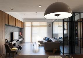 法兰德室内设计 | 40坪休闲风通透开放现代住宅设计