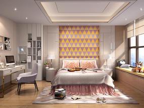 【干货资源】 现代风格丨家居住宅效果图+配套CAD+户型方案丨437.33MB