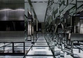 无锡罗浮宫陶瓷展馆 / 黑白现代风格