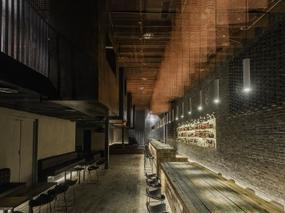B.L.U.E.建筑设计 | 重庆凛然酒吧,别具风格