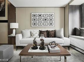 """融创财富一号现代风格76㎡""""私人住宅""""样板间软装设计!"""