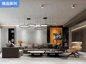 福州知名设计师李振杰丨几何分割的设计让你家更有质感