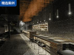 B.L.U.E.建筑设计 l 重庆凛然酒吧