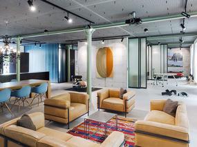 瑞士工业风LOFT阁楼现代公寓设计