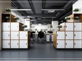 功能多元化,大空间灵活划分,任性的办公空间设计。