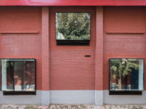 创造了鼓励交流和轻松的办公氛围   迹•建筑事务所
