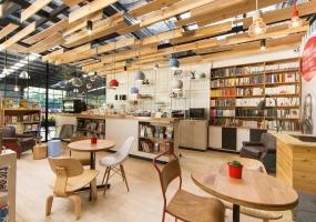 书屋咖啡厅装修设计表现
