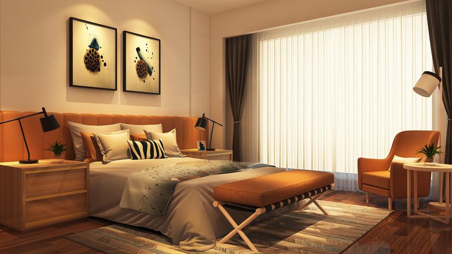 【效果表现第2期】如何打造现代时尚风格卧室