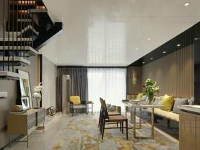 大森设计   现代红星地产大都汇项目B户型空间设计