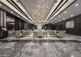 INHOUSE设计 l 温泉小镇项目售楼处设计
