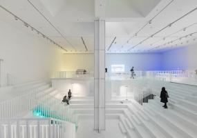 深圳海上世界文化艺术中心展厅装修设计