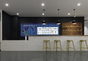 江苏淮安·COSMO地板展厅装修设计