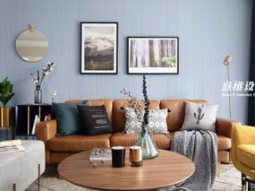 北欧风格 l 《花枝春野》住宅装修设计表现