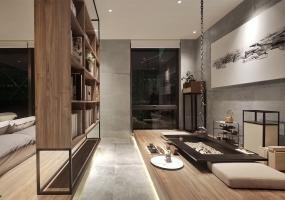 广州南沙保利星海小镇合院别墅装修设计