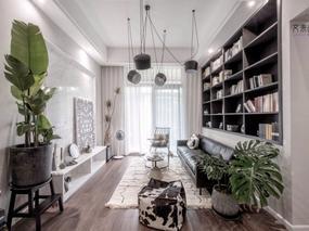 亲自然、黑白灰 | 89㎡北欧住宅设计