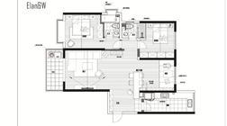 【户型优化第7期】117平米,一个家