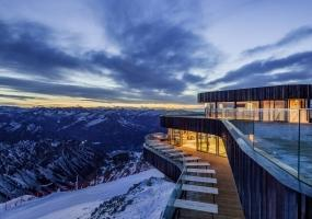 Hermann Kaufmann ZT | 高山现代主义餐厅装修