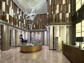 [售楼处] 上海天鼓装饰设计-金地中央世家售楼处