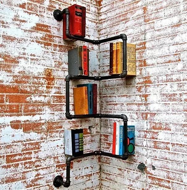 书架创意,只有想不到,没有做不到!