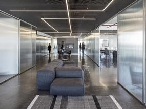 Basix总部办公室,动态的透明度