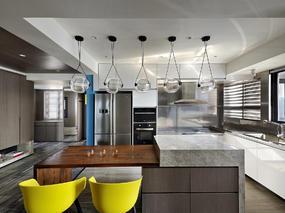 十上设计 | 80平米居室中的彩色生活