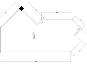 户型方案讲解点评:三室两厅一榻榻米,下水、烟道位自定#户型优化#