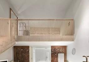暖色温馨原木风   LOFT酒店客房设计
