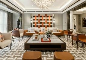 HWCD设计 橙醉法式浪漫 典藏艺术生活