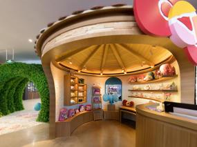 朗昇设计|深圳Hello Kitty Secret Path餐厅设计-向大自然致敬