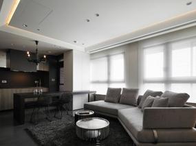 【现代简约】住宅装修设计案例