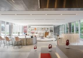 木君建筑设计 - 万科天马售楼处中心空间设计