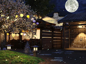 【星球设计】花在此时落,月在此时圆—送模型