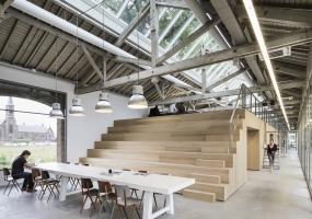 荷兰the Houtloods工作室   Bedaux de Brouwer Architects