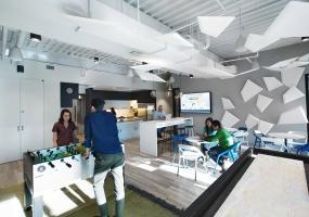 美国纽约市的金融公司Bankrate新的办公室