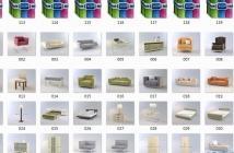 【震撼第二波】梁志天3D模型专用库,共122套...