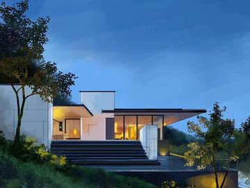 室外建筑效果图